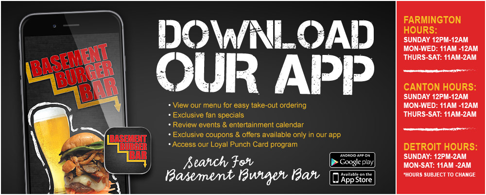 welcome to basement burger bar basement burger bar